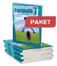 Gleerups Formula 7 Paket elevbok 25 ex+25 elevwebb+1 lärarwebb