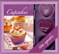 Cupcakes box – bok & 6 cupcakeformar