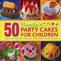 Bilde av 50 Novelty Party Cakes For Children