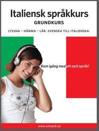 Italiensk språkkurs grundkurs