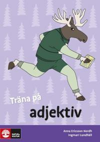 Träna på svenska Träna på adjektiv 5-pack