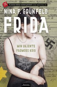 Bilde av bokomslaget til 'Frida; min ukjente farmors krig'
