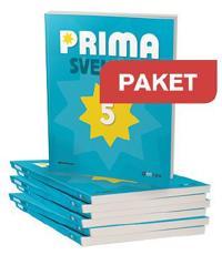 Gleerups Prima Svenska 5 Basbok Paket 20 ex + Lärarwebb Indlic 12 mån
