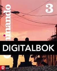 Caminando 3 Lärobok Digital, fjärde upplagan
