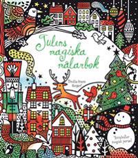 Julens magiska målarbok