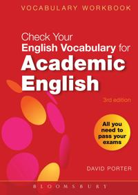 Bilde av Check Your Vocabulary For Academic English