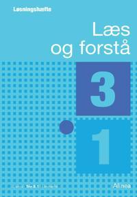 Bilde av Læs Og Forstå, Løsningshæfte 3, 1