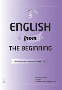 English from the Beginning 3 – Grundläggande engelska för årskurs 7-9
