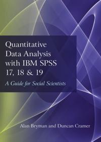 Quantitative Data Analysis with IBM SPSS 17, 18 and 19