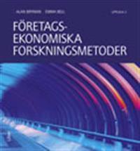 Företagsekonomiska forskningsmetoder