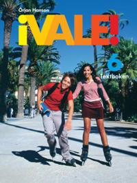 ¡Vale! 6 Textboken inkl. ljudfiler för eleven